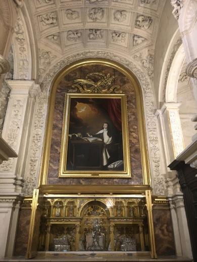 3 teresa of avila Seville cathedral