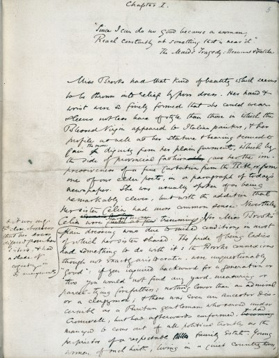 eliot george manuscript 067049